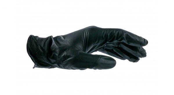 Black Nitrile Gloves - 6 Mil - 100 Pack - Size Medium